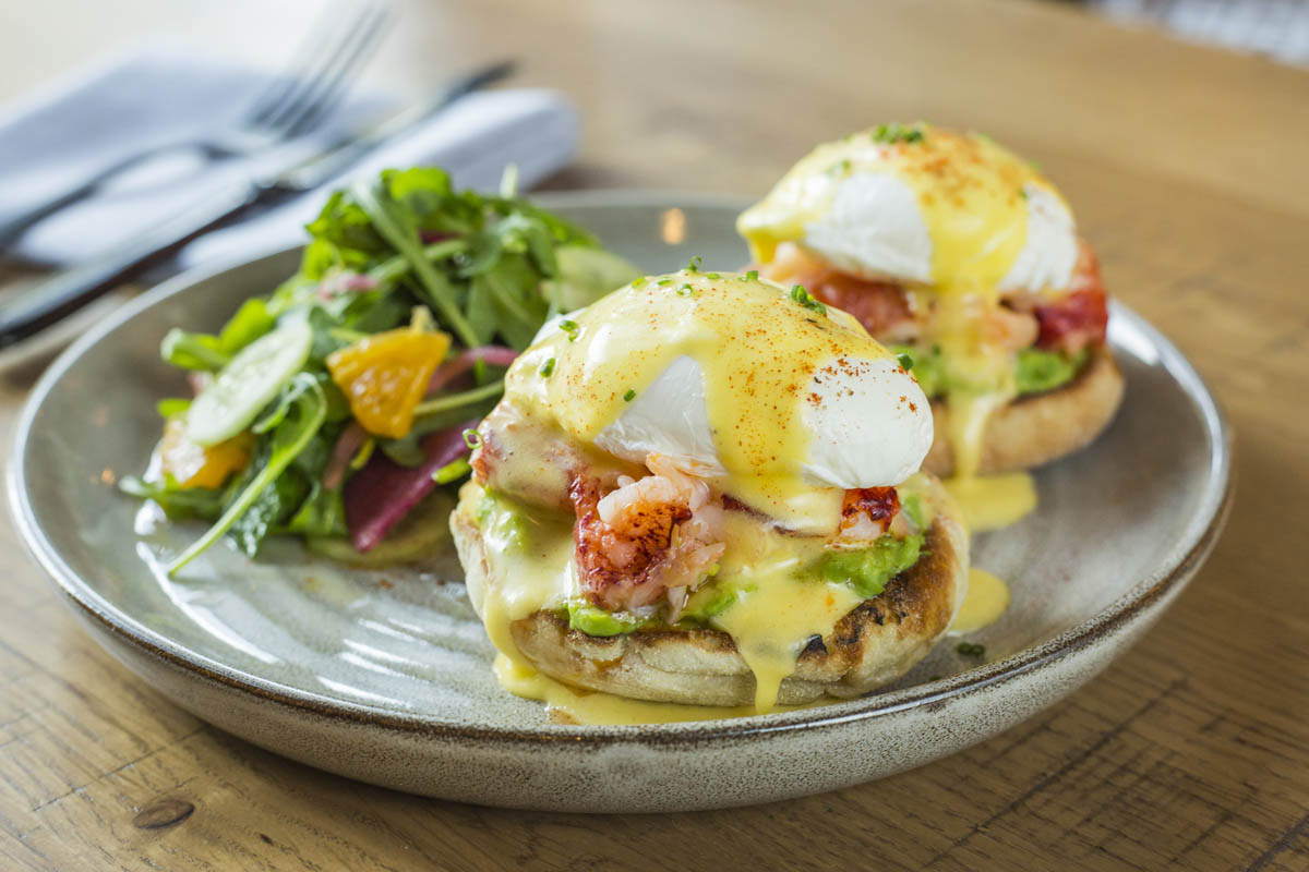 Lobster Benedict Brunch Meal