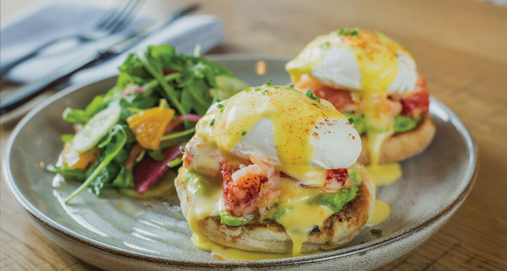 Now Serving Even More Sunshine. View Our Brunch menu.