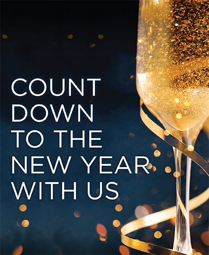 Count Down to the New Year with Us