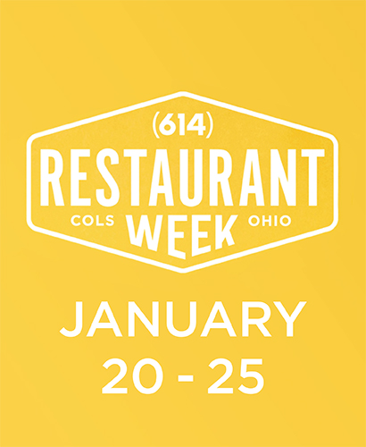 Restaurant Week January 20-25, 2020